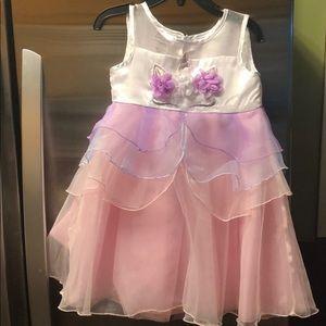 Blueberi Boulevard unicorn dress 3t